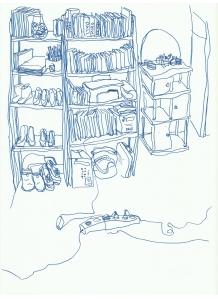 dessin -hanane-Objet 2014